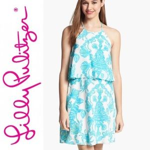 Lilly Pulitzer silk Whistler dress Size 0